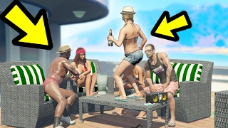 WHAT HAPPENS IF YOU LEAVE TRACEY ON THE YACHT? (GTA 5)