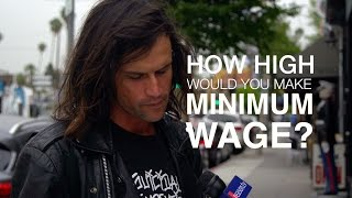 How High Would You Make the Minimum Wage? We Asked L.A. Residents.