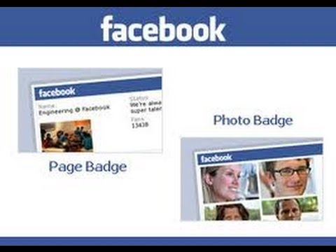 How To Add a Facebook Badge To Your Website