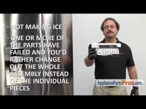 Refrigerator Icemaker Assembly (Part #DA97-07592A) - How To Replace