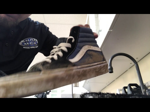 How to clean my vans grass stains ( Shoe mgk )