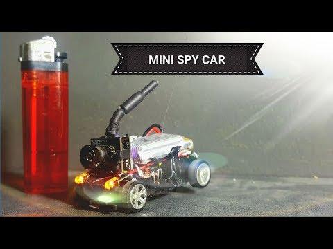 DIY MINI SPY CAR WITH LIVE VIEW