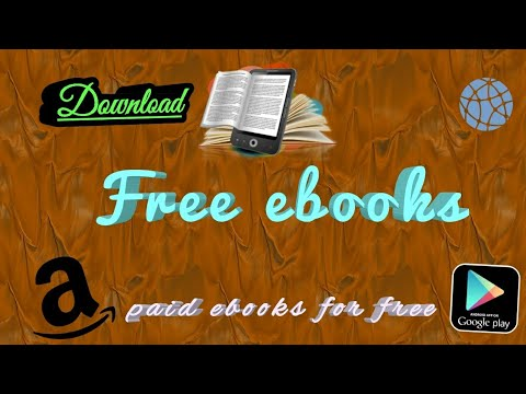 How to download ebooks from Amazon and Google play for free || download paid ebooks for free