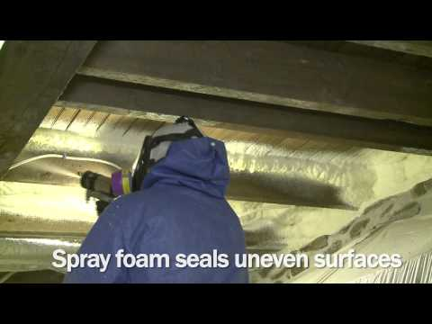 Insulating a Floor with Spray Foam