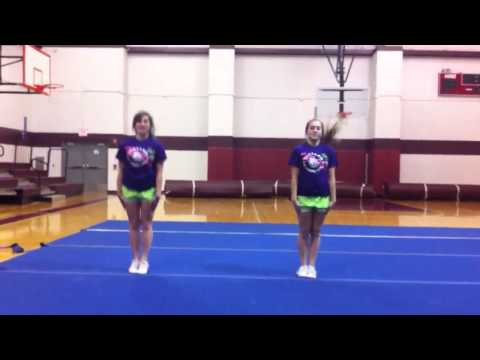 WHS Cheer Tryouts 2013-2014 - Jumps