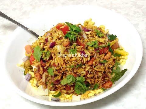 Mumbai Bhelpuri Video Recipe | Indian Street Food Recipe | Bhavna's Kitchen