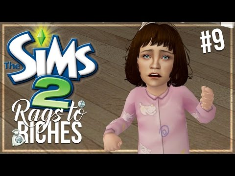 The Sims 2   Rags To Riches - Part 9 - TODDLER MAKEOVERS!!