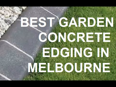 How to Have a Great Concrete Garden Edging Look