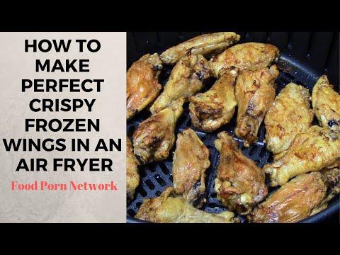 Frozen Air Fryer Chicken Wings