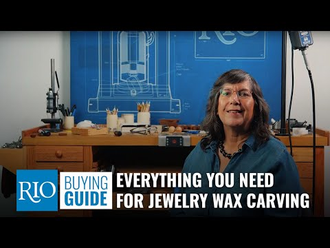 Wax Carving Bench Setup
