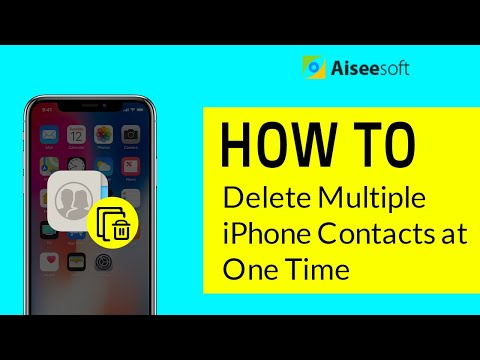 FoneTrans - How to Delete Multiple iPhone Contacts at One Time
