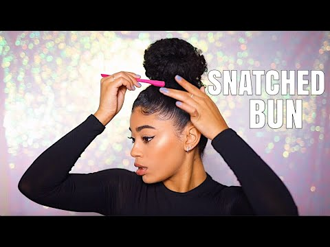 HOW TO SNATCH YOUR BUN! *in 5 minutes* | jasmeannn