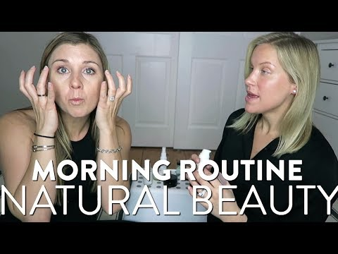 My Morning Skincare Routine | How To Get Clear Skin with Natural Products