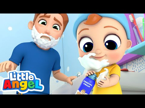 Xxx Mp4 I Wanna Be Like Daddy Little Angel Nursery Rhymes Amp Kids Songs 3gp Sex