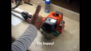 How To Fix A Grass Trimmer That Bogs Down And Won't Rev-up - Spark