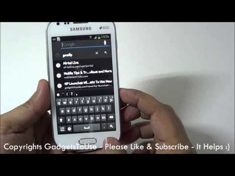 Samsung Galaxy S Duos Tips, Hidden Features and Helps Part 2
