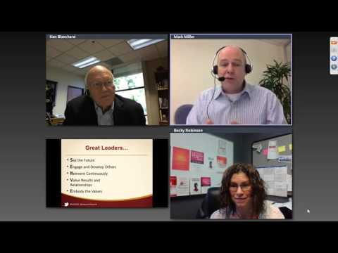 2015 Servant Leadership Summit - Ken Blanchard & Mark Miller