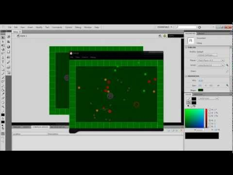 How to make a top down zombie shooter game in flash as2 - PART 1