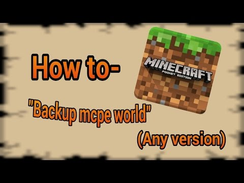 Minecraft PE 2016 - How to-