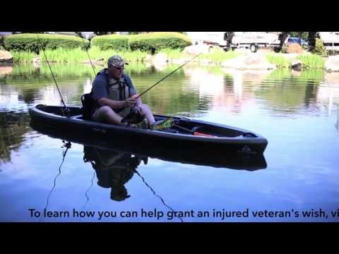 Army SSG Joshua Ives' Wish of a Fishing Kayak Granted - Sponsored by Bass Pro Shops