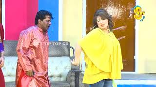 Imran Shoki and Asha Choudhary with Lucky Dear New Stage Drama Phul Jhariyan Full Comedy Clip 2019