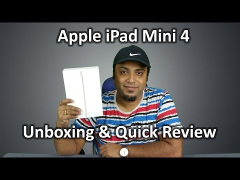 Apple iPad mini 4 unboxing and first Hands on Review