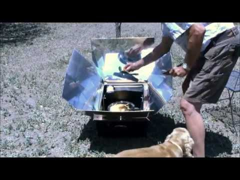 Solar Cooking Whole Chicken