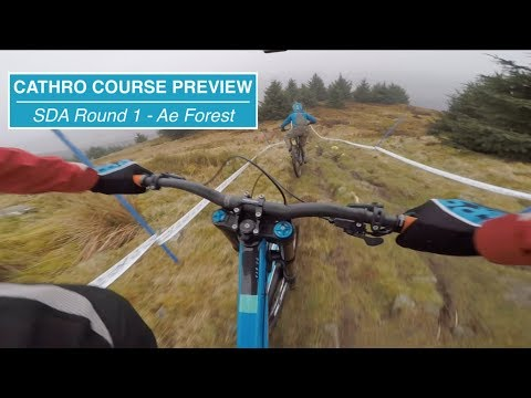 Cathro Course Preview // 2018 SDA Round 1 - Ae Forest