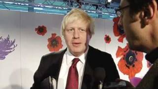 George Monbiot meets Boris Johnson at the Copenhagen climate conference