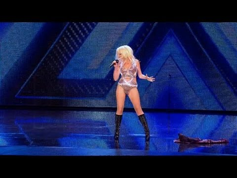 Kitty's outfit is all set to WOW - The X Factor 2011 Bootcamp (Full Version)