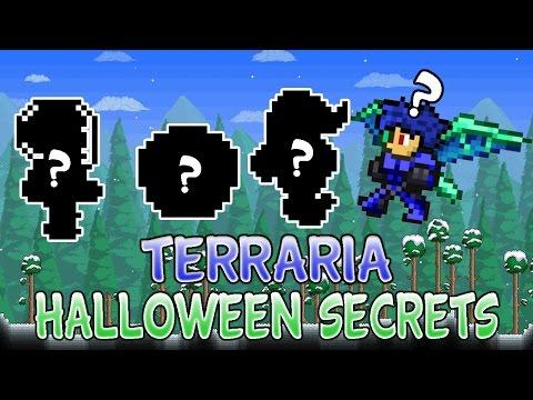 Terraria 1.2.4 Secret Halloween NPCs And Items Ios/Android 2016