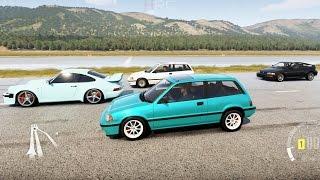 K20 Honda Civic Drag Build! | Forza Horizon 3 | Daikhlo