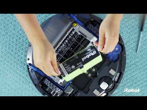 How to Replace Your Battery | Roomba® 600 Series Robot Vacuums
