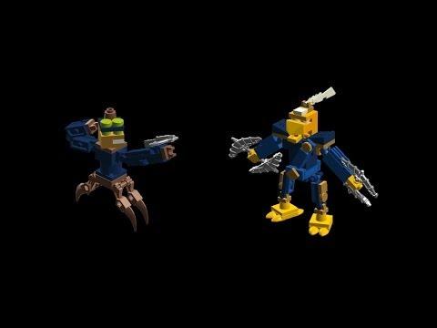 Lego Skylanders #73 Spy Rise & Free Ranger + Swapability