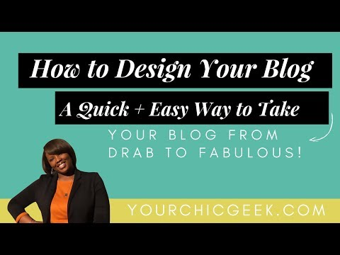 How to Design Your Wordpress Blog: One Quick + Easy Update