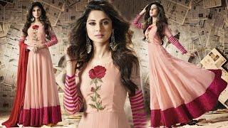 Women's Party Wear Gown Dresses: Long Floor Length Anarkali Salwar Kameez Suits Collection Online