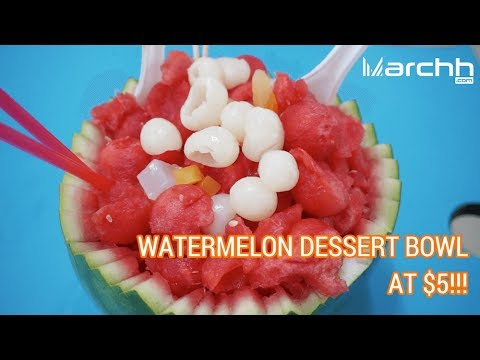Xue Hua Fei Watermelon Dessert Bowl