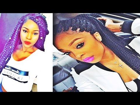 Latest Box Braids Hairstyles for African American Women