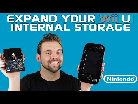 HOW TO EXPAND YOUR WII U INTERNAL STORAGE