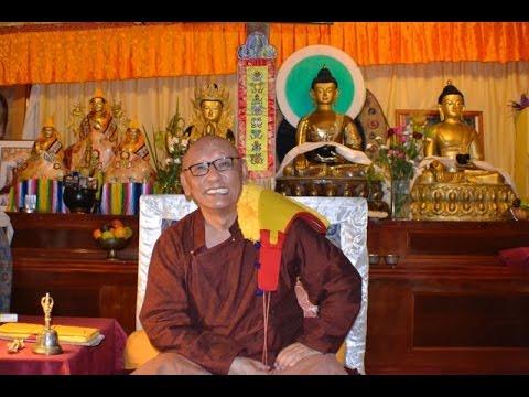 Tibetan Buddhist Teachings Prayers with Geshe La Ngawang Gedun