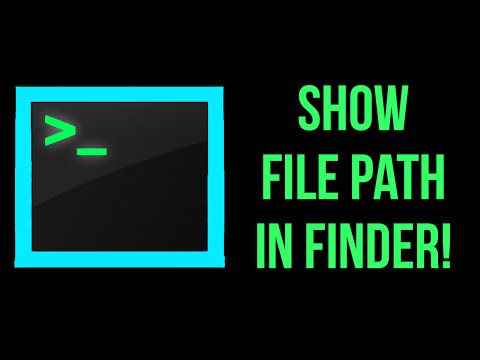 Terminal Tutorial! Show File Path in Finder! Part 17!