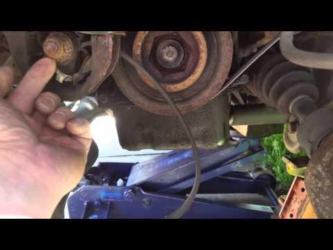 2000 Honda CRV 2.0 fan belt replacement part 1