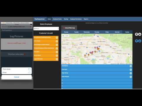 Employee Routing, Tracking & So much more on Paythepoolman.com with Plus