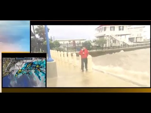 Tropical Storm Cindy update from Houston & New Orleans