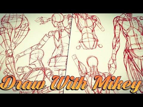 Anatomy & Form Study - Draw With Mikey 46