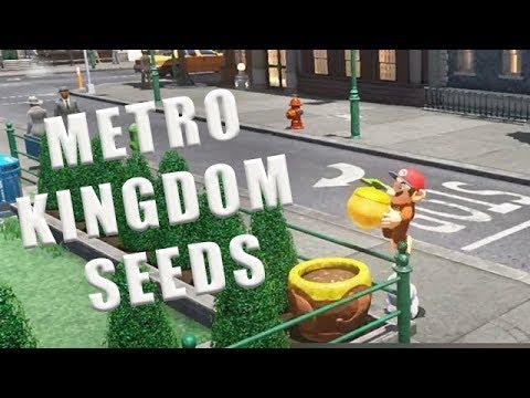 Metro Kingdom Seeds Super Mario Odyssey