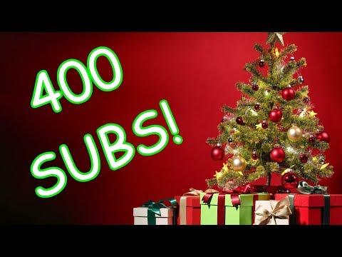 Merry Christmas 400 Subs!