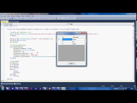 FASTEST Import Excel To DatagridView VB Net And SQL Server