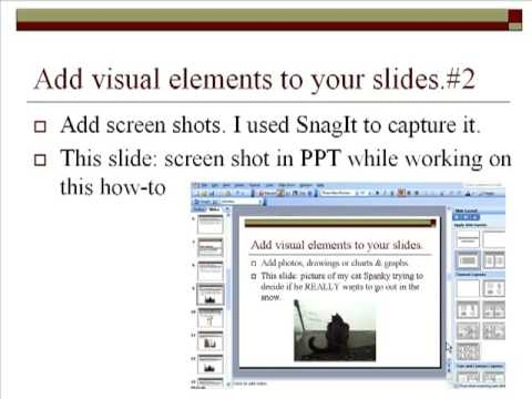 How To Videos with PowerPoint--Part 1