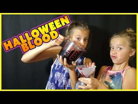 ↪HOW TO MAKE FAKE BLOOD↩ | HALLOWEEN TUTORIAL | WE ANSWER THAT EP 42 | SMELLYBELLYTV